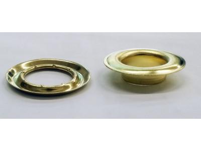 """SPGW #4 (1/2"""")ID:15,4 mm Self-Piercing Grommets & Washers (500 sets)"""