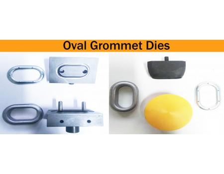 Oval Grommet Setting &  Cutting Dies For TIR  Oval 40 mm & 42 mm Grommets