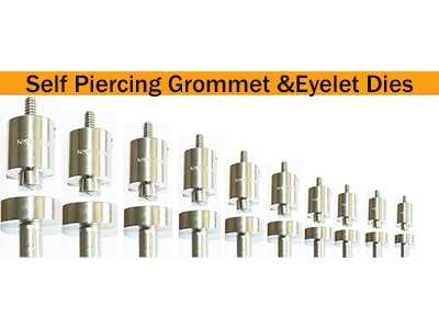 Self Piercing Grommet & Eyelet Dies Made of Stainless Steel A 4020