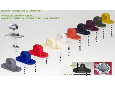 Plastic Turnable Staple