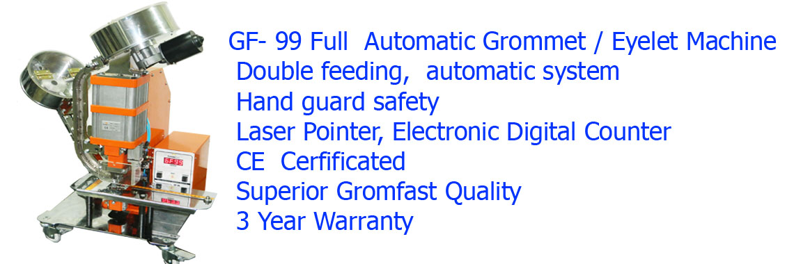 GF-99 Full Automatic Grommet Machine