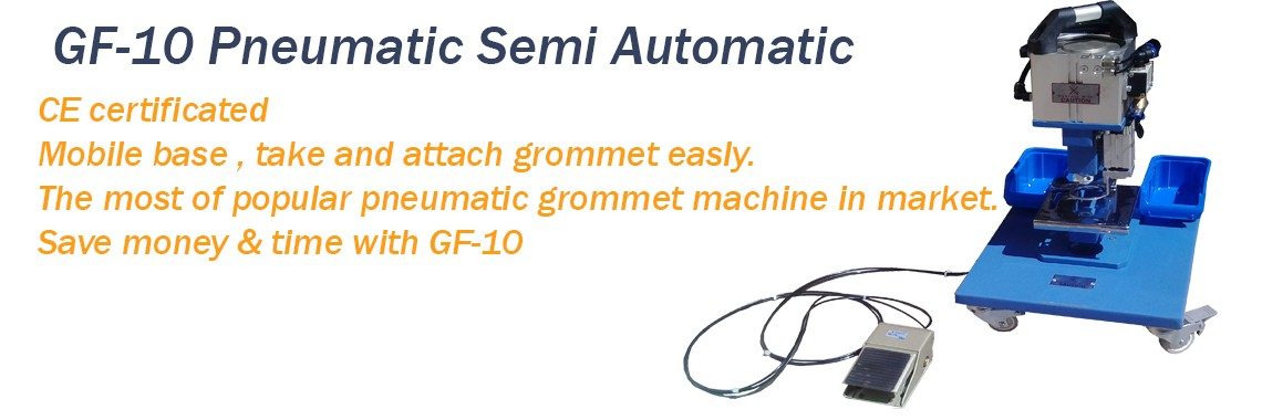 GF-10 Pneumatic Grommet Machine