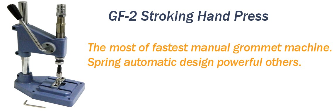 GF-2 Stroking Grommet Machine