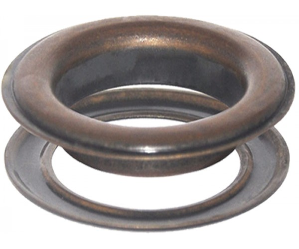 Round #12 (1 1/2\ inch ) METAL Grommets and Washers(Bronze Finishes)Copper Oxide(ID 40 mmØ)